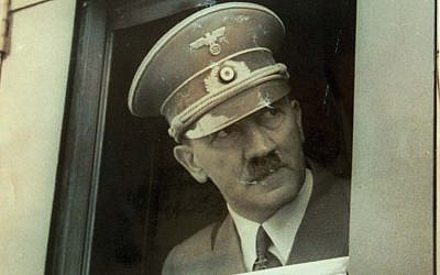 Reproduction of Adolf Hitler from Israel Nazi hunter Tovia Fridman archive (photo credit: Roni Schutzer/Flash90)