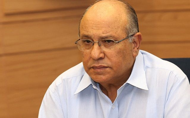 Former Mossad chief Meir Dagan at a meeting of the Knesset's Foreign Affairs and Defense Committee in 2010. (photo credit: Yossi Zamir/Flash90)