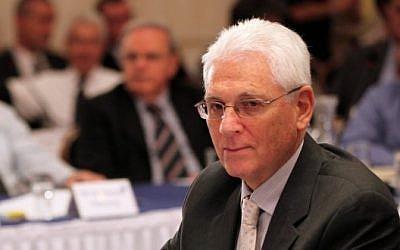 Yitzhak Levanon, right. (photo credit: Yossi Zamir/Flash90)