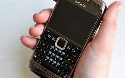 Mobile phone (photo credit: Sophie Gordon/Flash 90)