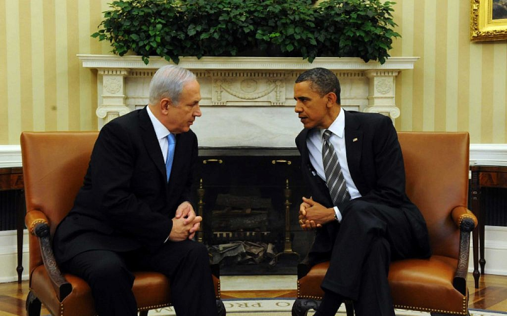 Benjamin Netanyahu and Barack Obama meet at the White House in 2011. (photo credit: Avi Ohayon/Government Press Office/Flash90)