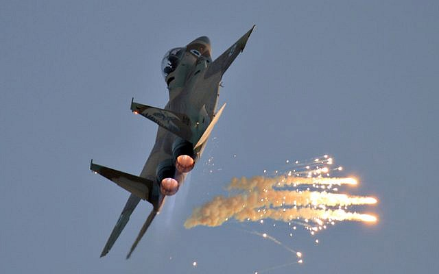An Israeli F-15 (Ofer Zidon/Flash90)
