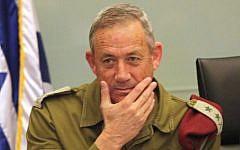 IDF Chief of the General Staff Benny Gantz (photo credit: Yossi Zamir/Flash90)