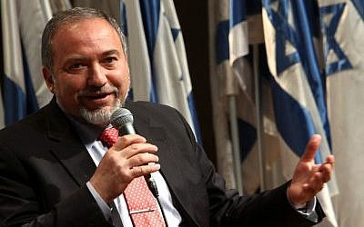 Israel Foreign Minister Avigdor Lieberman (photo credit: Miriam Alster/Flash90)
