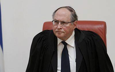 Supreme Court Justice Elyakim Rubinstein (photo credit: Uri Lenz/Flash90)