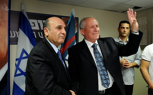 And then there were two.  Avi Dichter drops out of the Kadima primary (photo credit: Yossi Zeliger/ Flash 90)