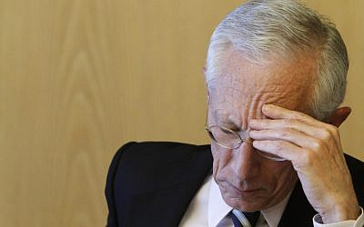 Stanley Fischer reports on the economy (photo credit: Miriam Alster/Flash90)
