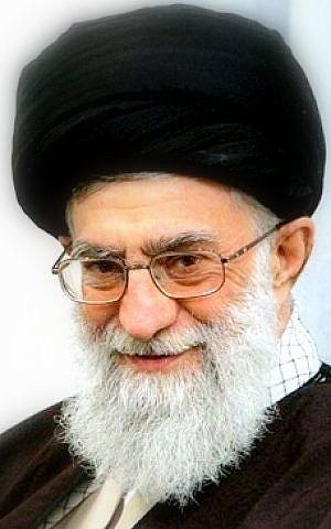 Ali Khamenei (photo credit: CC-SA-Sinaf77/Wikimedia Commmons)