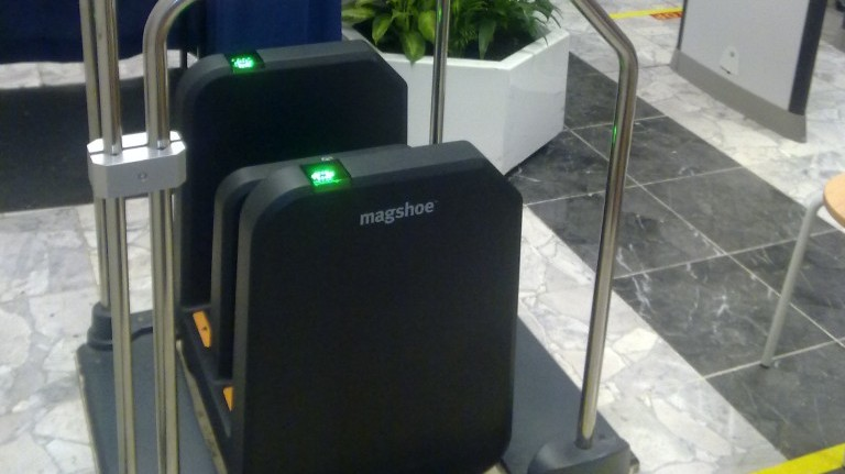 Shoe security system may one day replace airport scanners | The
