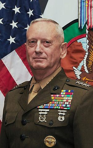 Marine General James Mattis (photo credit: US Department of Defense)
