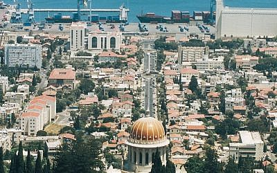 The coastal city of Haifa (photo credit: Ministry of Tourism/File)