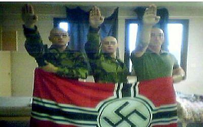 Illustrative image of neo-Nazis.