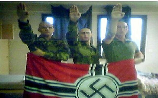 Illustrative image of neo-Nazis.