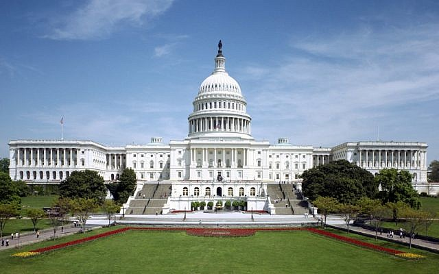 The US Capitol building in Washington DC, home to both houses of Congress. (Courtesy)