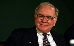 American billionaire investor Warren Buffet. (Big R/Flash90)