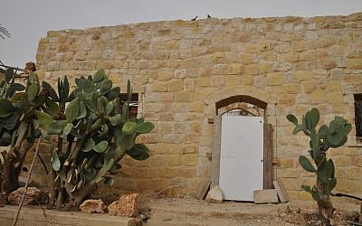 An Ottomon era building in Beersheba's Old City (photo credit: Jen Klor)