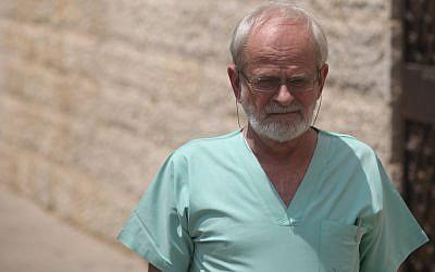 Dr. Yehuda Hiss, chief pathologist at Abu Kabir Forensic Institute (photo credit: Kobi Gideon/Flash90)