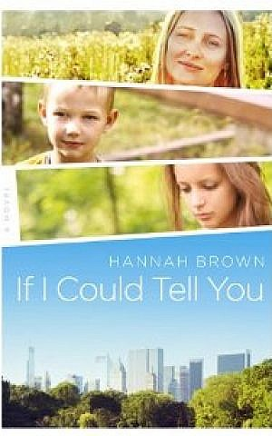 Hannah Brown's first book (photo credit: Courtesy)