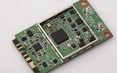 The LTE Mini PCIe (photo credit: Courtesy)