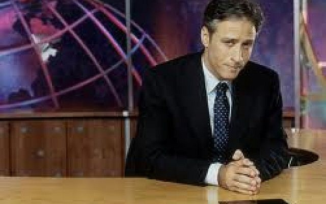 Jon Stewart (photo credit: Courtesy)