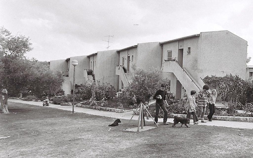 The original collective; Kibbutz Tzuba in 1981 (photo credit: Yossi Zamir/Flash 90)