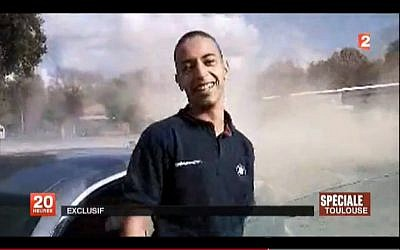 Mohammed Merah, seen in a home video. (photo credit: France 2)