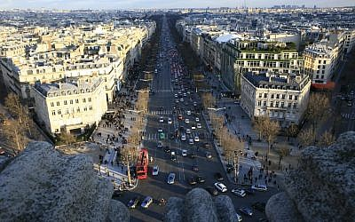 A view of Paris (photo credit: Yossi Zamir/Flash90)