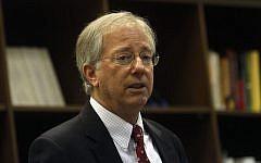 Veteran US diplomat Dennis Ross (Uri Lenz/Flash90)