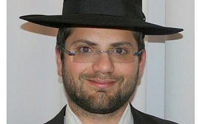 Rabbi Jonathan Sandler (photo credit: via Facebook)
