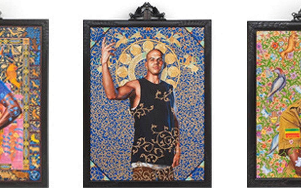 Kehinde Wiley exhibit (photo credit: The Jewish Museum)