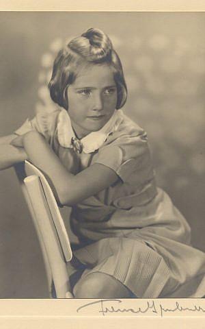 Hana Brady, circa 1938. (photo credit: courtesy)