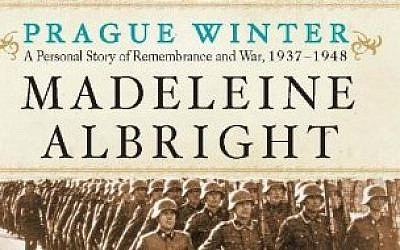 Cover of Madeline Albright's book 'Prague Winter.'