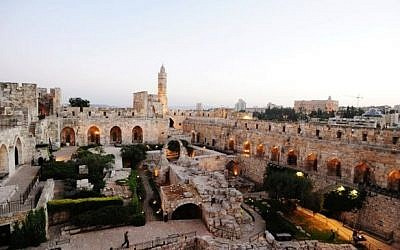 The Tower of David (photo credit: Courtesy Tower of David/Facebook)