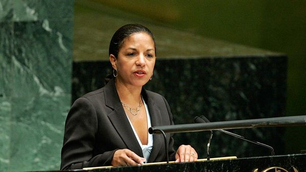 US ambassador to the UN Susan Rice (photo credit: courtesy UN)