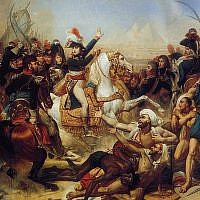 Napoleon's Egypt-Syria campaign (photo credit: Antoine-Jean Gros, Wikimedia Commons)