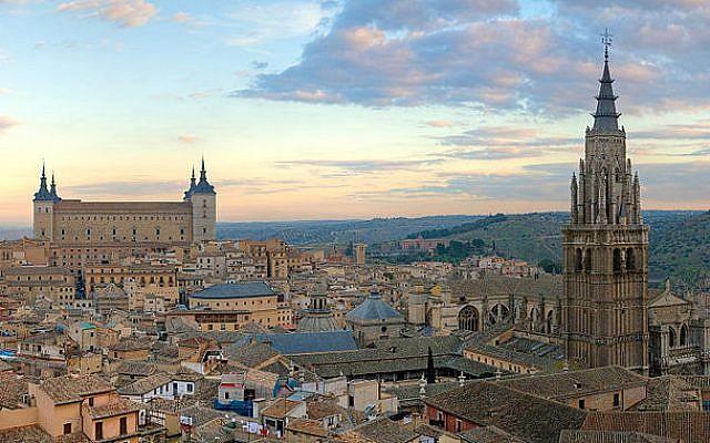Toledo skyline (photo credit: CC BY-SA Diliff, Wikimedia Commons)