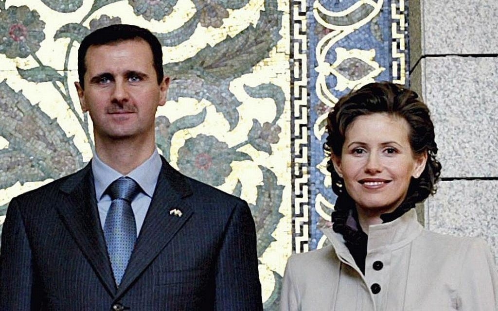 True romance? Syria's first couple (photo credit: CC BY-SA Ricardo Stuckert/ABr, Wikipedia)
