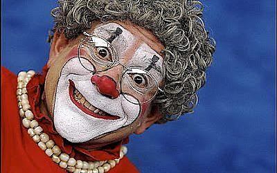Barry Lubin, aka 'Grandma' (photo credit: Jointmedia News Service)