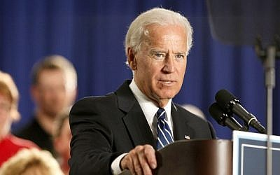 US Vice President Joe Biden (photo credit: AP/Madalyn Ruggiero/File)