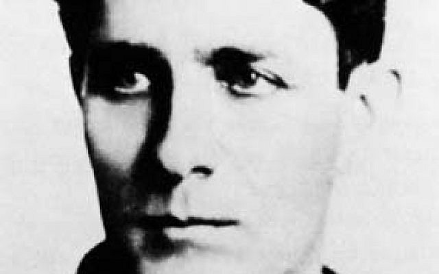 Corneliu Zelea Codreanu, a fascist WWII leader, featured on the cover of a new children's poetry book in Romania that received public funding (photo credit: Wikimedia Commons)