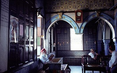 The El Ghriba Synagogue in Tunisia (photo credit:upyernoz via CC/JTA)