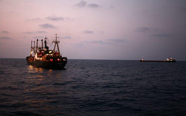 Cargo ship (illustrative photo credit: Chen Leopold/Flash90)