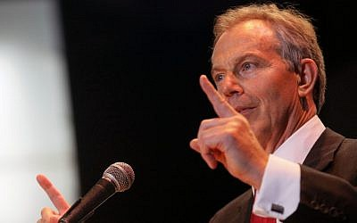 Tony Blair (Kobi Gideon/Flash90)