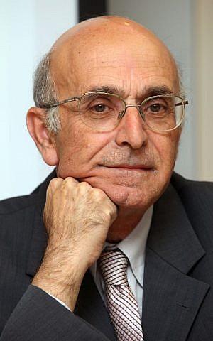 Shlomo Yitzhaki (photo credit: Abir Sultan/Flash90)