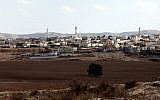 Illustrative: The Bedouin town of Rahat in the northern Negev. (Yossi Zamir/Flash90)