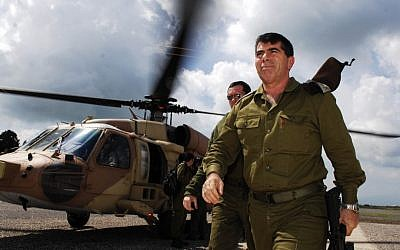 Former IDF chief of staff Gabi Ashkenazi (photo credit: Abir Sultan/Flash90)
