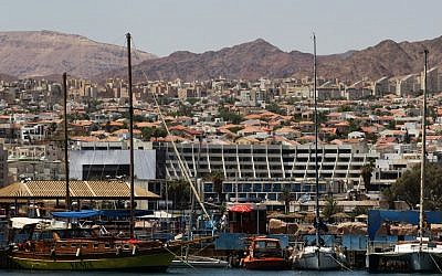 The city of Eilat. (photo credit: Nati Shohat/Flash90)