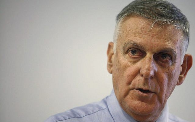 Dan Shechtman (photo credit: Flash90)