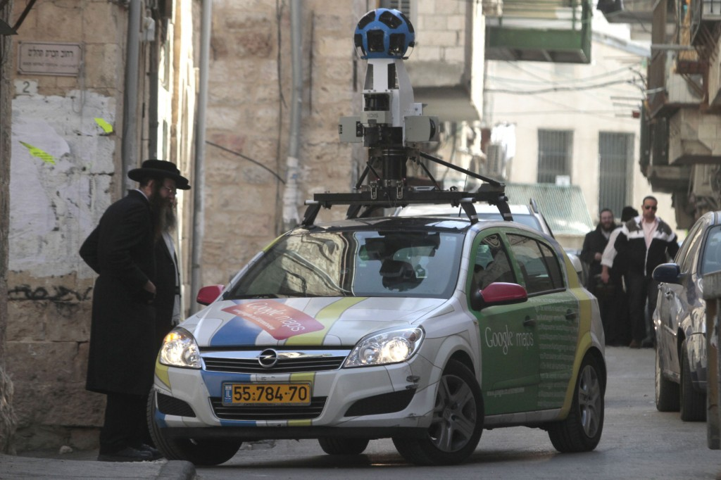 Google Street View to launch in Israel  The Times of Israel