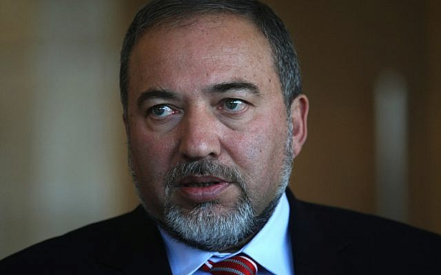 Foreign Minister Avigdor Liberman (photo credit Kobi Gideon/Flash90)